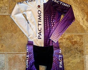 Pactimo CycloCross skin suit for cycling 10/10 condition