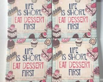 Dessert Coaster Set