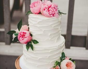 Custom Cake Topper Mr & Mrs - Gold Cake Topper   - Wedding