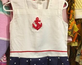 Sailor Dress 3/4T