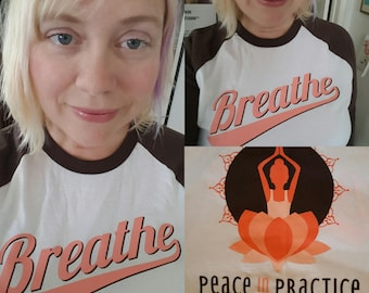 "Lotus Yoga Shirt ""Breathe"""