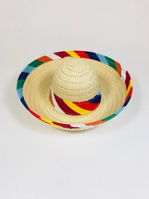 Sombrero || Dog Hat || Straw Hat || Mini Sombrero ||  Fiesta Party || Fiesta Hat
