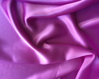High quality silky sateen, very close to genuine silk sateen. Color mallow No23