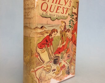 Emily's Quest by L. M. Montgomery 1930's Vintage Hardback