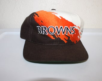 Vintage 90's Cleveland Browns Snapback by Logo Athletic