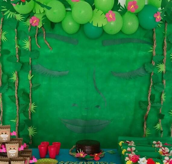 diy moana birthday party returns the heart of te