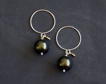 Chesterfield - Smallies - Green Swarovski Pearl