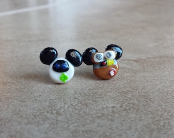 Wall-E and Eve Mickey Mouse Inspired Earrings