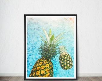 Pineapple Digital print Poster , Art Print, Digital Art, Digital Art Print, Digital Artworks, Digital Print Art, Digital Art Download