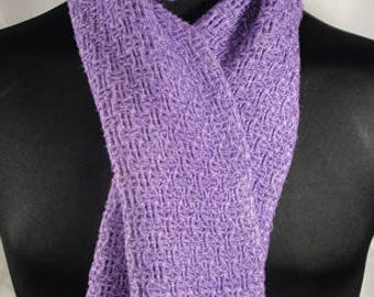Hand Woven and Hand Dyed Bamboo Scarf