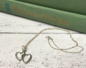Inspirational heart necklace, valentines day, mothers day, new mother, mother's day, expecting mother, girlfriend gift wife best friend