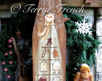 Feather Tree Angel, Terrye French email pattern packet