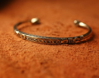 Tuareg Bracelet Silver African Ethical Saharan Jewellery