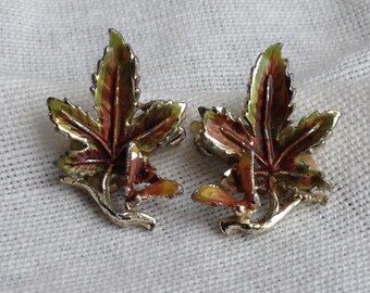 SALE! Rare Vintage EXQUISITE Sycamore Tree Series Earrings