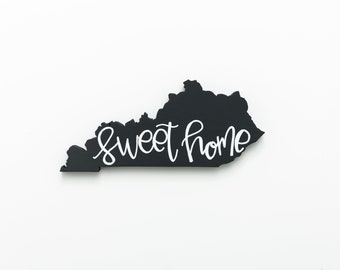KY | Sweet Home Wood Wall Art
