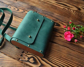 Leather bag, Leather bag black, Black leather handbag, Women handbag, Women leather handbag, Green Leather bag