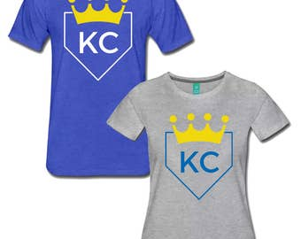 KC Royals Baseball Home Plate T Shirt both Men's and Women's