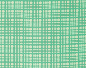 Clementine Dot Weave Turquoise by Heather Bailey for Free Spirit