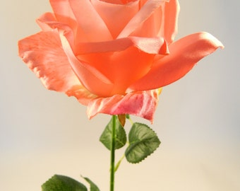 """Rose Spray in Pink - 32"""" Tall"""