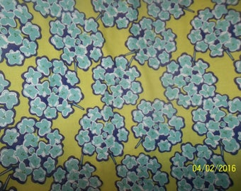 "Kathy Davis -"" Happiness - Bouquet"" 100% Cotton Fabric #41"