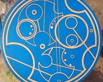 Custom Gallifrey Name Plaque