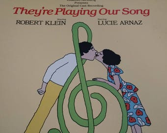 They're Playing Our Song  1979 original cast recording- Vinyl Record