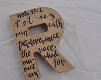 Letter 'R' - Hebrews 12:2