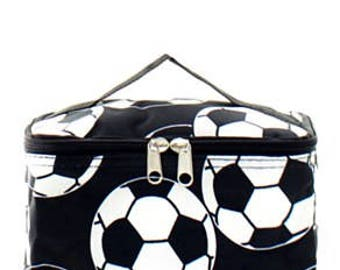 Soccer Ball Small Cosmetic Case w/ Monogram Option