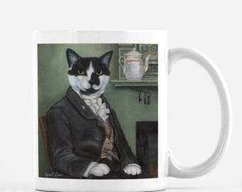 Cat Mug, Cat Themed Gifts, Grumpy Cat, Cat Dad, Cat Mom, Black Cat Gifts, Crazy Cat Lady, Simon