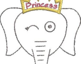 Marion Elephant Stipple Princess Design 4