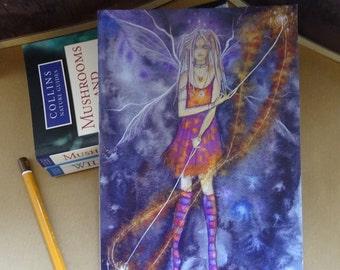 Fire Girl! A5 Notebook