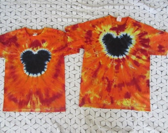 Tie dye shirts- Youth Medium and Youth Large available for immediate shipment