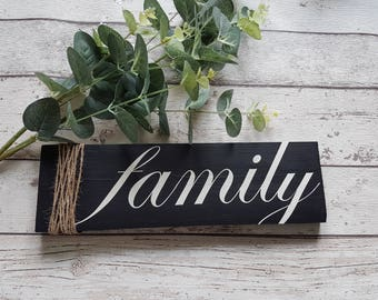 family wood sign quote - memories, gallery wall, family, wood sign