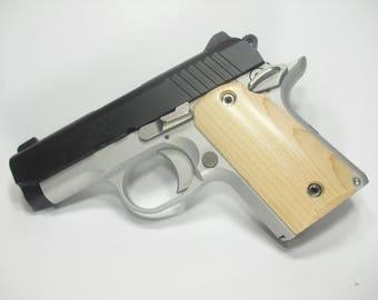 Maple Kimber Micro 9 Grips