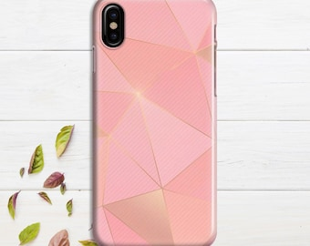 iphone x case 3D Pink Triangles iphone 8 case iphone 8 plus Case 6 iphone 7 plus Case iPhone 10 Case iPhone 7 Case iPho