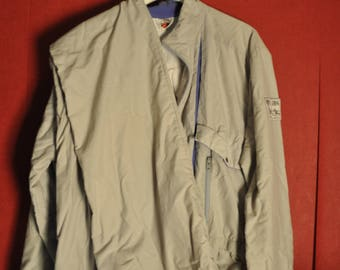 Vintage 80s SkiOverall Gray Loosefit Size L-XL