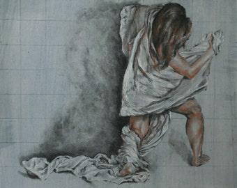 Trois Crayons Sketch 4
