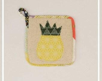 Pineapple Potholder