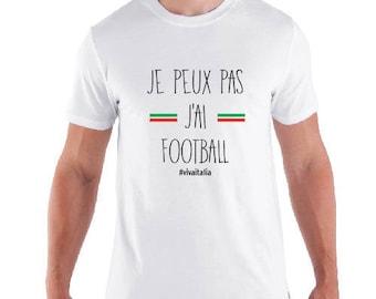 "shirt man ""I can not J AI FOOTBALL"" special team Italy"
