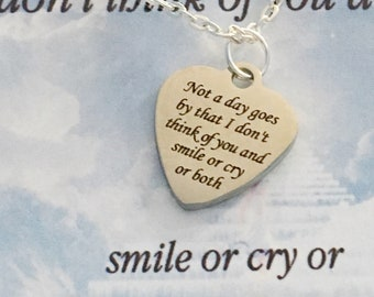 Sympathy Gift Memorial Gift Memorial Jewelry Loss of Mother Loss of Mother Gift Remembrance Gift
