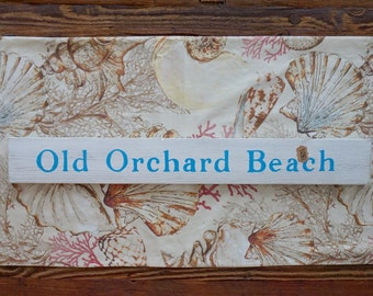 Old Orchard Beach, Maine - Handpainted sign