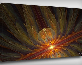 Abstract Dimensions Canvas Print, By CrownosArts