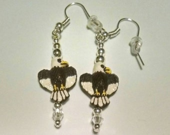 Bald Eagle Earrings Item No. 110