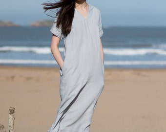Linen Dress Motumo - 16S3