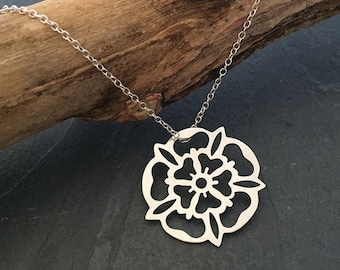 Yorkshire Rose Pendant