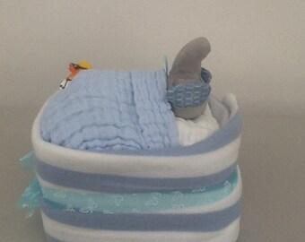 Nappy cake, baby showers, new born