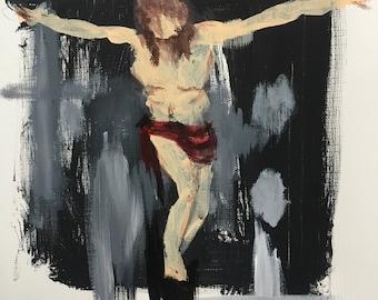 Jesus in the Cemetery