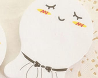 Cute Cartoon Lovely Self-adhesive Memo Pad Sticky Notes Post It Bookmark
