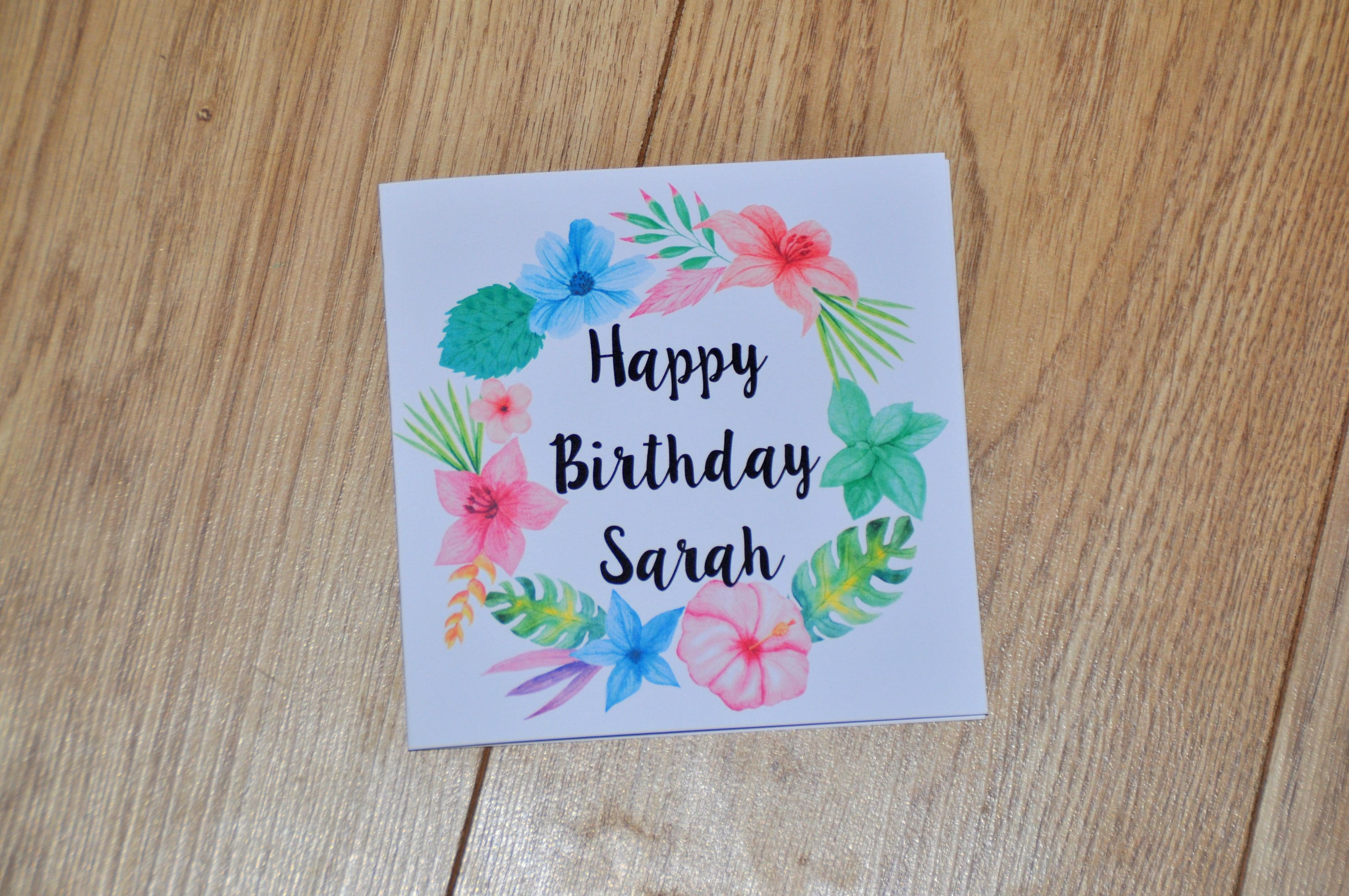 Birthday card thoughtful card thinking of you thank you zoom izmirmasajfo Images