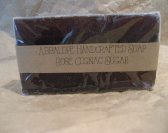 Rose Cognac Sugar Soap Bar
